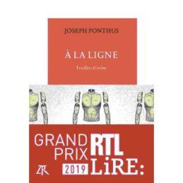 A la ligne – Joseph PONTHUS