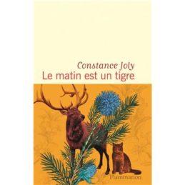 Le matin est un tigre – Constance JOLY