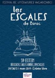 «MES» Escales de Binic – 29/30/31 Mars 2019