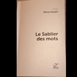 Le Sablier des mots – Mona AZZAM